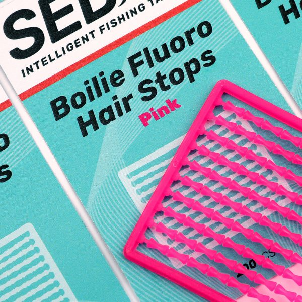 Boilie Fluoro Hair StopsPINKnobgxx